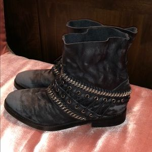 Free People Wanderlove Ankle Boot Black Size 38